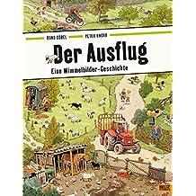 Der Ausflug: Eine Wimmelbilder-Geschichte. Vierfarbiges Papp-Bilderbuch