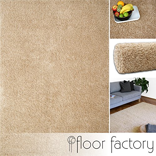 Alfombra moderna Colors beige 160x230cm - alfombra shaggy al precio súper económico
