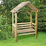 Athena 2 Seater Timber Pressure Treated Relaxation Garden Arbour