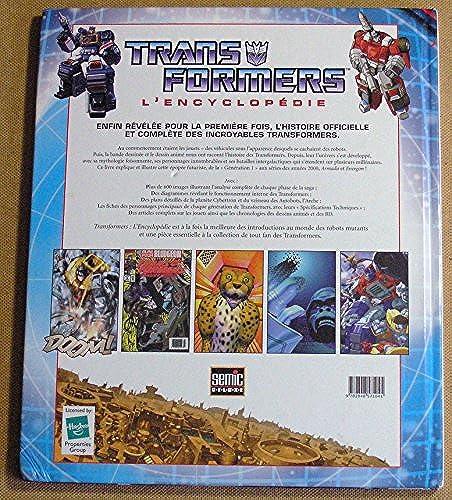 [Livre IDW/Semic] L'encyclopédie Transformers de Simon Furman en Francais 61ItWc7wXKL._UL500_