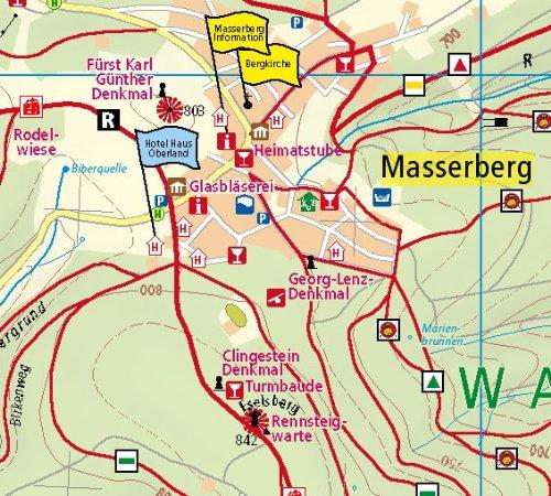masserberg-schleusegrund-wanderkarte-mit-ausflugszielen-einkehr-freizeittipps-wetterfest-reissfest-abwischbar-gps-genau-125000-wanderkarte-wk-2