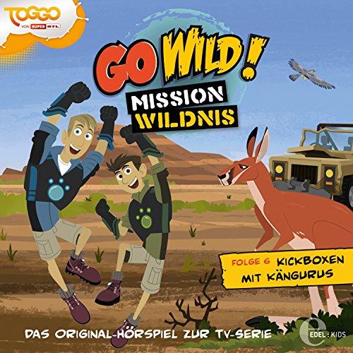 Folge 6: Die Nashörner sind los! / Kickboxen mit Kängurus (Das Original-Hörspiel zur TV-Serie) Känguru Serie