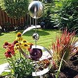 Dekoskulptur/Beetstecker-Skulptur/Dekokugel Neptun für Garten, Terrasse Oder Blumenbeet - (BS 100 004)