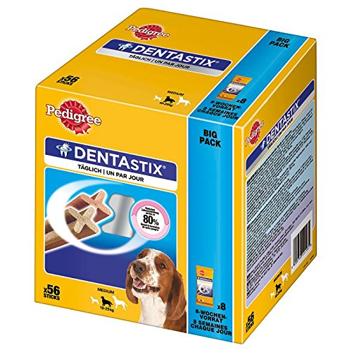 PEDIGREE DENTASTIX MEDIUM MULTIPACK X56 DOG