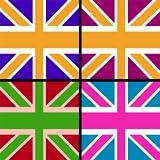 UK Flag Memory Game : folgen Sie den Englisch Nation Banner bestellen - Gold Edition