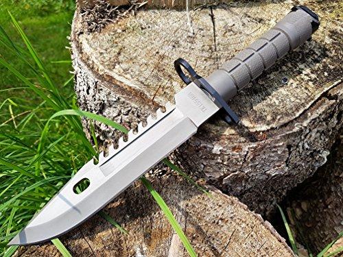 U.S. Army M-9 Typ-3 - Militär M9 Multipurpose Bajonett mit extrem Sägerücken - taktisches Kampfmesser - Jagdmesser - (Knife Usa Army)