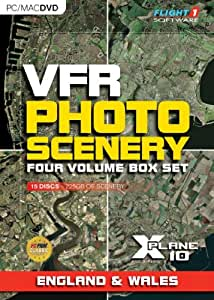 VFR Photo Scenery for X-Plane 10 - England & Wales [import anglais]