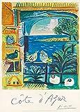 World of Art Vintage Travel Frankreich für Côte d 'Azur