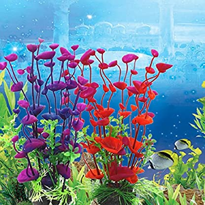 Sunlight House Plastic Artificial Aquatic Plants Aquarium Plants Landscaping Water Grass Decoration for Aquarium Fish… 3