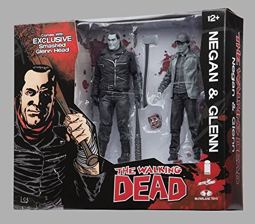Walking Dead Negan Glenn Color Action Figure Set SDCC 2016 Skybound Exclusive by Skybound Entertainment 1