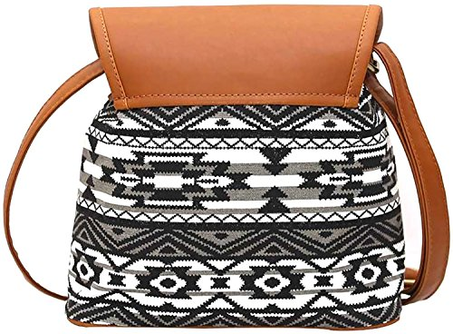 Ankit Fashion Women's Sling Bag Set Of 2 (Multicolor,Bnb316Ly-Bwb)