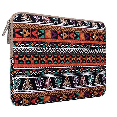 MOSISO - Style Bohémien Tissu de Toile Housse pour 11-11,6 Pouces Ordinateur Portable / Netbook / MacBook Air, phénix