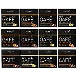 VIAGGIO ESPRESSO - 120 Kaffeekapseln kompatibel mit Nespresso - AROMATISIERTE AUSWAHL   Enthält Vanilla Caramel und Schokoladenkapsel Flavoured Kapselpackung