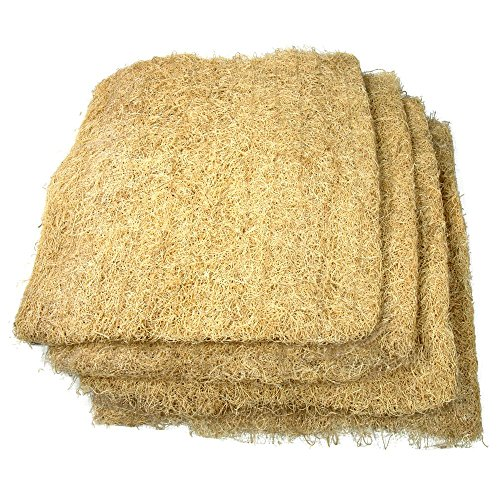 """V Furnish Kohinoor Grass Air Cooler Cooling Pads, Wood Wool for air Coolers (36"""" x 24"""", Brown) - Set of 3"""
