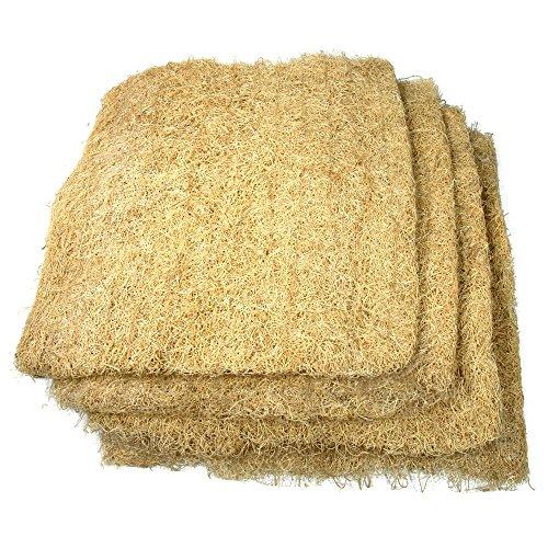V Furnish Wood Shavings Large Air Cooler Brown (Set of 3)