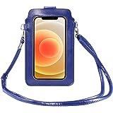 HAIWILL Touchscreen Tasche Handy Damen Handytasche zum Umhängen, kleine Damen Crossbody Umhängetasche für iPhone 12/12 Pro Ma