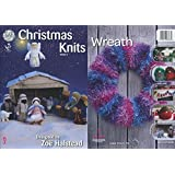 King Cole Christmas Knits Book 3 - Nativity Scene Festive Xmas Decorations Tea Cosy & Garland