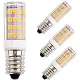 LED Ampoule de maïs E14 5W Candélabre ampoules 35W équivalent, 400LM AC220V, Blanc Chaud 3000K ampoules LED Lustre décoratifs