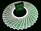 BICYCLE METALLUXE EMERALD JUEGO DE CARTAS Baraja Limited Edition Cards...