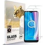 Asoway skärmskydd för ALCATEL 1S 2020 [2-pack] HD härdat glas film anti-fingeravtryck bubbla fri lätt att installera, 9H hård