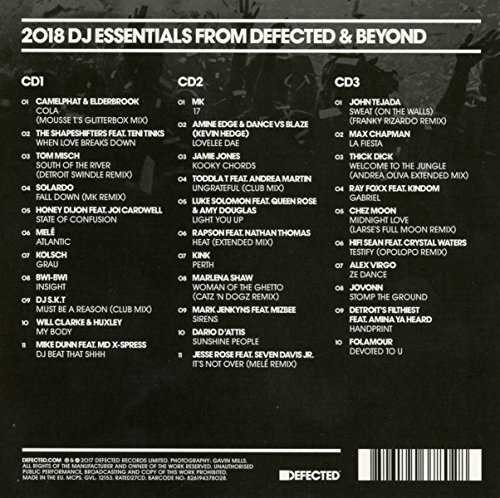 Defected presents Most Rated 2018