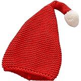 Konvinit Weihnachtsmütze Kinder Nikolausmütze Plüsche Weihnachtsmann Mütze Rote Santa Mütze Nikolaus Dicker Fellrand Aus Plüsch Kuschelweich Angenehm Spielzeug