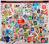 #4: 1000 WORLD STAMPS (ALL DIFFERENT)no small Indian definitive used-NEW IMAGE POSTED NOV13-2017