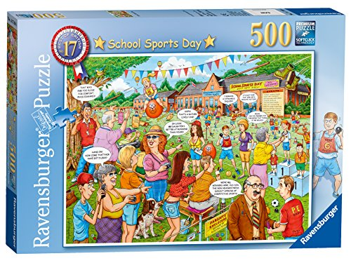 Preisvergleich Produktbild Ravensburger Best Of British Nr. 17–Schule Sport Tag Kunstnägel Puzzle