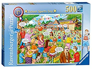 Ravensburger Puzzle School Sports Day, Puzzle nº 17 de la colección Best of British, de 500 Piezas