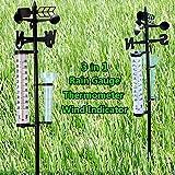#6: Garden Thermometer Rain Gauge Wind Indicator Outdoor Atmospherium