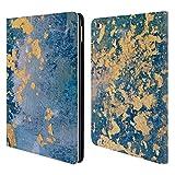 Head Case Designs Offizielle Cathy Standridge Gold Gespritzt 2 Gewebe Brieftasche Handyhülle aus Leder für iPad Air 2 (2014)