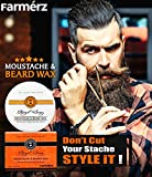 Best Moustache Waxes - Farmérz Moustache & Beard Wax (50g)- The Royal Review