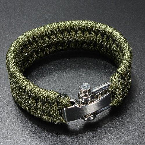 61Iv Flrk4L. SS500  - A-Szcxtop Emergency Hand Self-defence Emergency Tool Survival Rope Bracelet, Paracord Bracelet with Adjustable Stainless…