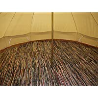 Bell Tent Half Moon Rag Rugs 9