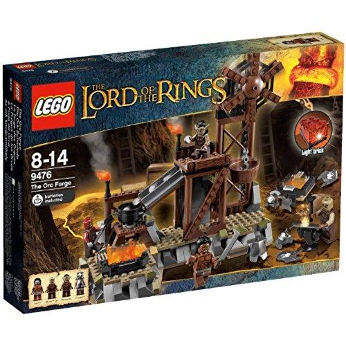 LEGO Herr der Ringe 9476 - Die Ork, Schmiede (Die Lego Herr Der Ringe)