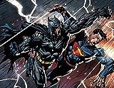 Superman Vs. Batman Comics aimant pour réfrigérateur Decor ManCave DC Comics # 1