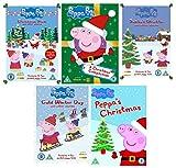 Peppa Pig Christmas DVD Collection - Peppa Pig: Cold Winter Day / Peppa Pig: Santas Grotto / Peppa Pig: Peppas Christmas / Peppa Pig: A Christmas Compilation / Peppa Pig: Christmas Show