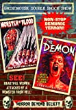 Grindhouse Double Shock Show - The Demon / Monster of Blood (DVD-R) (1981) (All Regions) (NTSC) (US Import) [Region 1]
