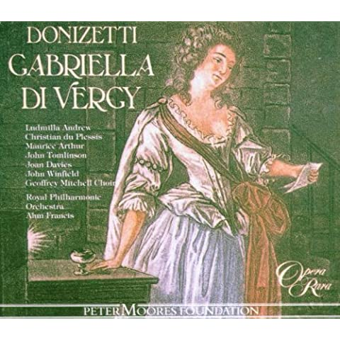 Gabriella Di Vergy (tragedie Lyrique En 3 Actes)