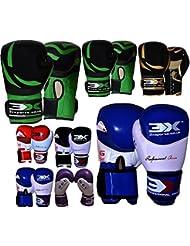 3X Sport Gants De Boxe Entrainement KickBoxing Compétition Mitaines De Sac De Frappe Boxing Gloves