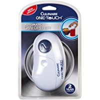 Culinare One Touch Automatic Can Opener, White