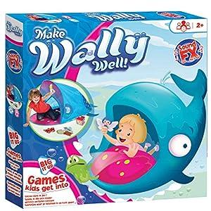 KidActive 225WHE Big IT UP-Make Wally Well-Games Kids Can Get into, Azul Juguete para el Aprendizaje