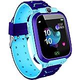 linyingdian Smartwatch Niños, Reloj Inteligente Niños con 1.44 Pantalla táctil Completa, LBS localizador Linterna, Llamada, S