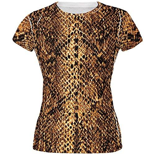 une Schlange Snakeskin Kostüm aller Junioren T Shirt Multi LG (Halloween-wüsten)