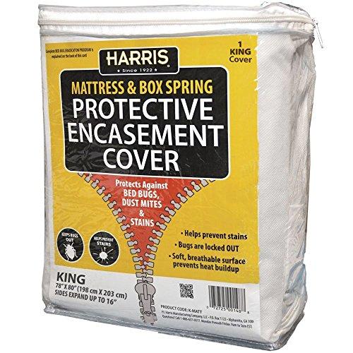 Harris nicht & Box Spring Schutzhülle umgreifung, King (1Cover) (King Box Spring Cover)