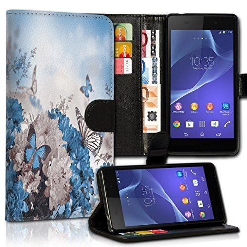 Wallet Book Style Flip Handy Tasche Case Schutz Hülle Schale Motiv Etui für Apple iPhone 4 / 4S - Variante UMV17 Design12 Design 6