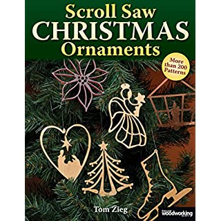 Scroll Saw Christmas Ornaments: Over 200 Patterns (Christmas)