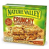 Nature Valley Barres de Céréales Crunchy Avoine/Beurre de Cacahuètes Boîte de 10