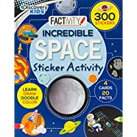 Discovery Kids Incredible Space Sticker Activity