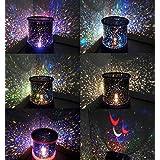 Night Romatic Gift Cosmos Star Sky Master Projector Starry Night Light Lamp